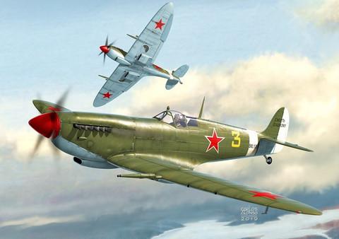 KP 1/72 Spitfire Mk.IX