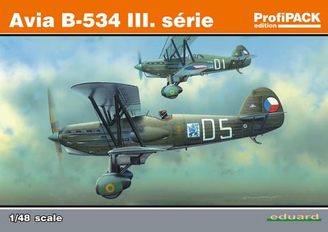 Eduard 1/48 Avia B-534 III. serie (Profipack)