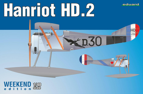 Eduard 1/48 Hanriot HD.2 (Weekend Edition)