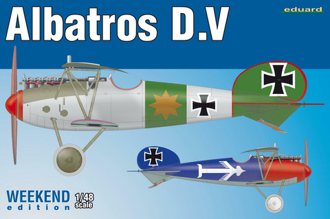 Eduard 1/48 Albatros D.V (Weekend Edition)