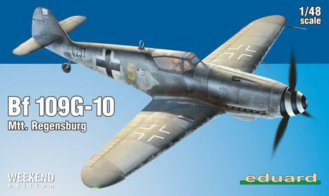 Eduard 1/48 Bf 109G-10 Mtt. Regensburg (Weekend Edition)