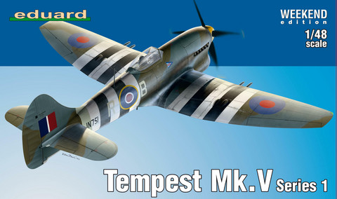 Eduard 1/48 Tempest Mk. V Series 1 (Weekend Edition)
