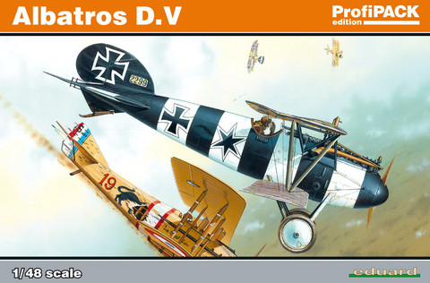 Eduard 1/48 Albatros D.V (Profipack)