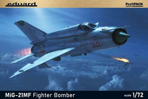 Eduard 1/72 MiG-21MF Fighter Bomber (Profipack)
