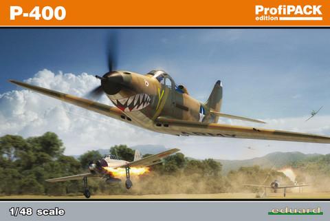 Eduard 1/48 P-400 (Profipack)