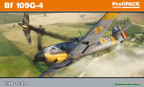 Eduard 1/48 Bf 109G-4 (Profipack)