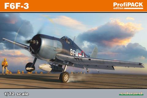 Eduard 1/72 F6F-3 (Profipack)