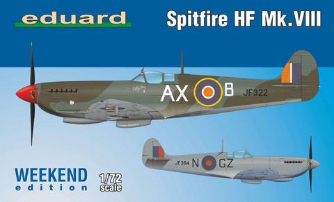 Eduard 1/72 Spitfire HF Mk.VIII (Weekend Edition)