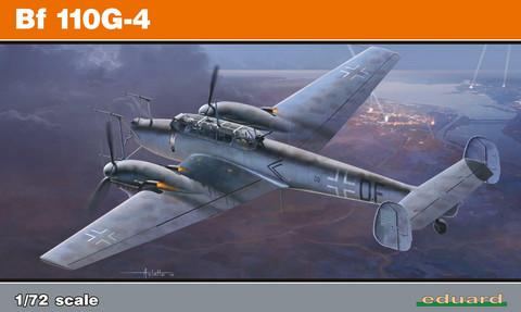 Eduard 1/72 Bf 110G-4 (Profipack)