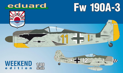 Eduard 1/48 Fw 190A-3 (Weekend Edition)