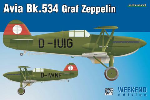 Eduard 1/72 Avia Bk.534 Graf Zeppelin (Weekend Edition)