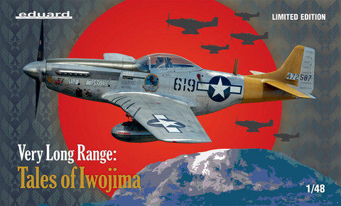 Eduard 1/48 Very Long Range: Tales of Iwo Jima (Limited Edition)