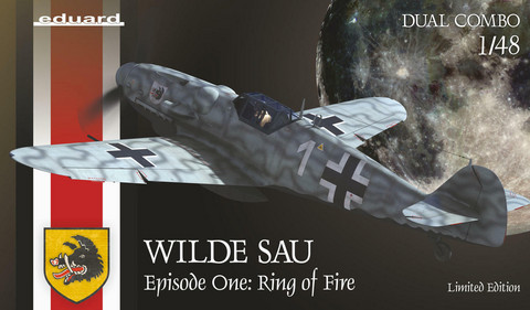 Eduard 1/48 Wilde Sau - Episode One: Ring of Fire (Limited Edition DUAL COMBO)