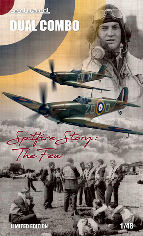 Eduard 1/48 Spitfire Story: The Few (Limited Edition DUAL COMBO)