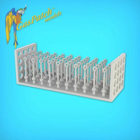 GasPatch Models 1/48 Resin Turnbuckles Albatros Type