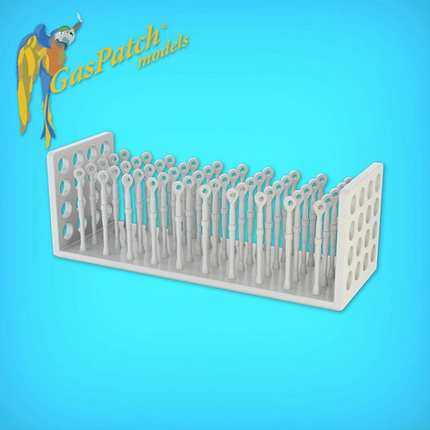 GasPatch Models 1/48 Resin Turnbuckles One End