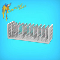 GasPatch Models 1/48 Resin Turnbuckles Type A