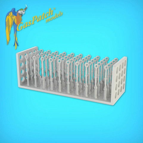 GasPatch Models 1/48 Resin Turnbuckles Type B