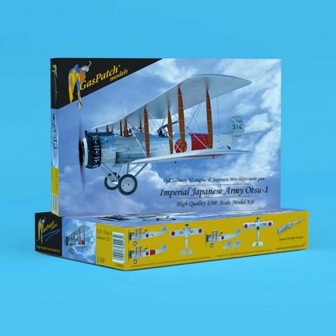 GasPatch Models 1/48 Salmson 2A2 Japanese (Otsu 1)