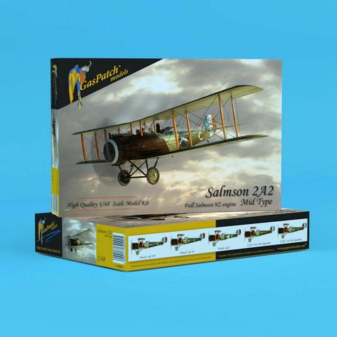 GasPatch Models 1/48 Salmson 2A2 Mid Type