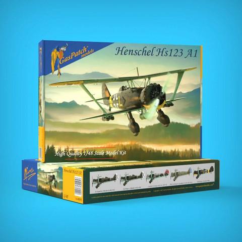 GasPatch Models 1/48 Henschel Hs 123 A1