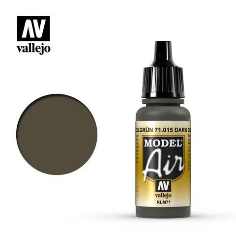 Vallejo Model Air 71.015 Dark Green RLM71