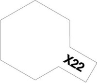 Tamiya Acrylic Mini X-22 Clear kiiltävä lakka 10ml