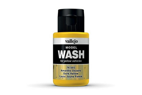 Vallejo Model Wash 76.503 Dark Yellow