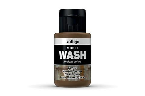 Vallejo Model Wash 76.514 Dark Brown