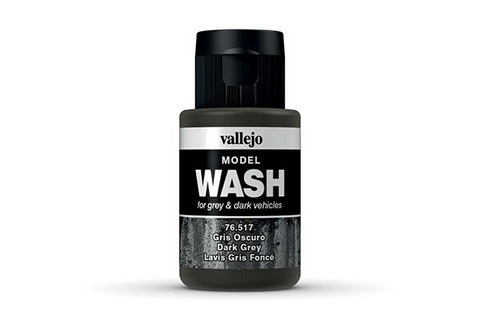 Vallejo Model Wash 76.517 Dark Grey