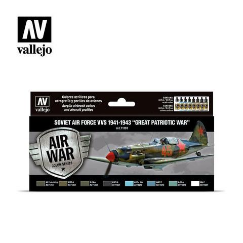 Vallejo Model Air 71.197 Soviet Air Force VVS 1941-1943 maalisetti 8x17ml