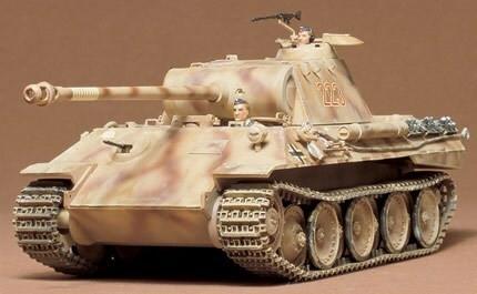 Tamiya 1/35 Panther Ausf. A