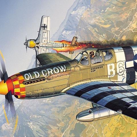 Academy 1/72 P-51B