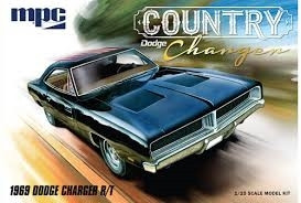 MPC 1/25 1969 Dodge Charger R/T