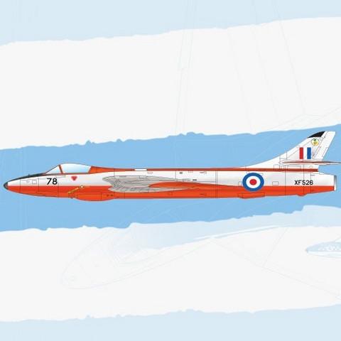 Academy 1/48 Hawker Hunter F.6/FGA.9, RAF&Export