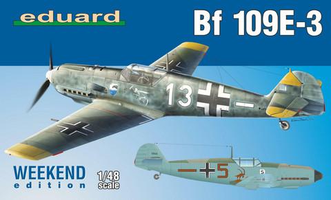 Eduard 1/48 Bf 109E-3 (Weekend Edition)