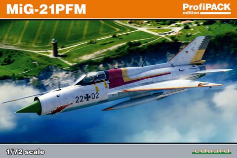 Eduard 1/72 MiG-21PFM (Profipack)