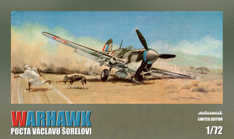 Eduard 1/72 Warhawk 'Pocta Václavu Šorelovi'
