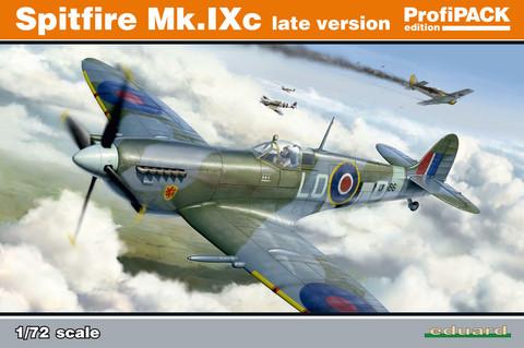 Eduard 1/72 Spitfire Mk.IXc late version (Profipack)