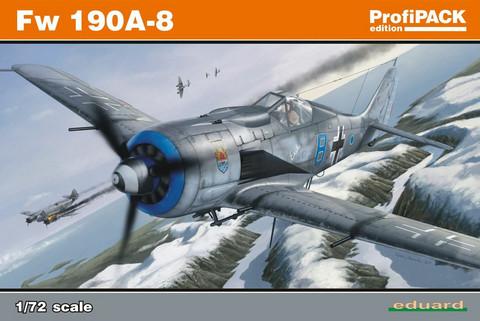 Eduard 1/72 Fw 190A-8 (Profipack)
