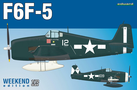 Eduard 1/72 F6F-5 (Weekend Edition)