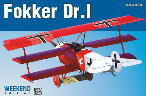 Eduard 1/48 Fokker Dr.I (Weekend Edition)
