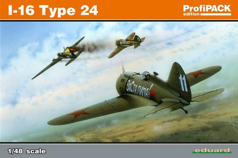 Eduard 1/48 I-16 type 24 (Profipack)