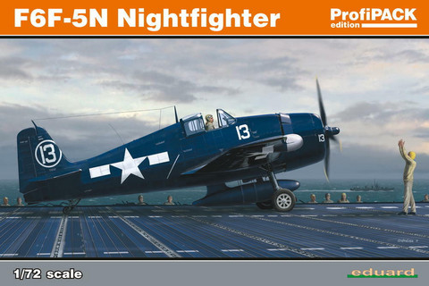 Eduard 1/72 F6F-5N Nightfighter (Profipack)