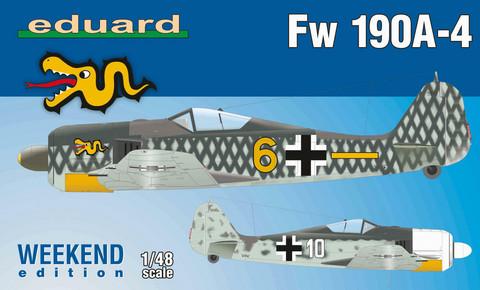 Eduard 1/48 Fw 190A-4 (Weekend Edition)