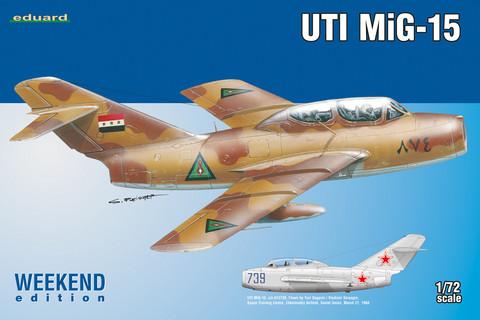 Eduard 1/72 UTI MiG-15 (Weekend Edition)