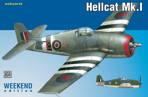 Eduard 1/72 Hellcat Mk. I (Weekend Edition)