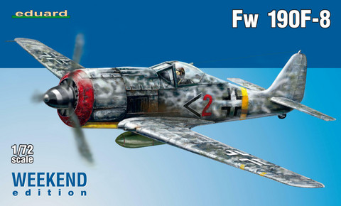 Eduard 1/72 Fw 190F-8 (Weekend Edition)