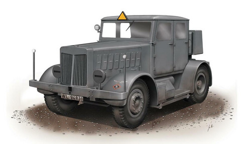 Special Hobby 1/72 SS-100 Gigant Schwerer Radschlepper/Heavy Tractor