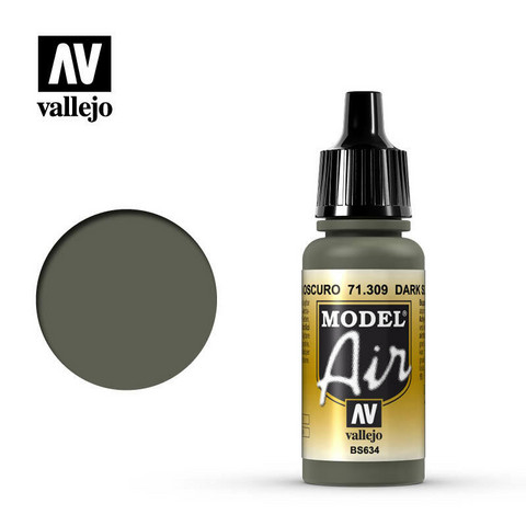 Vallejo Model Air 71.309 Dark Slate Grey